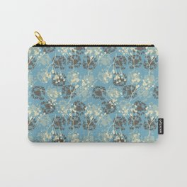 Seeds on blue Carry-All Pouch