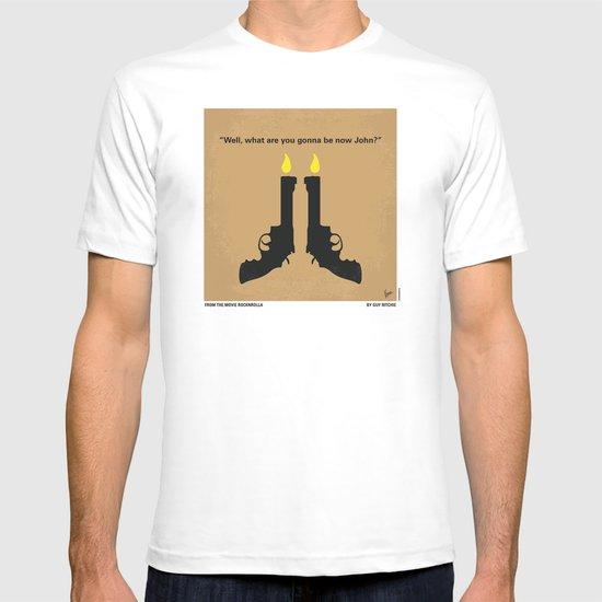 No071 My Rocknrolla minimal movie poster T-shirt