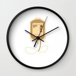 Coffee Dextrose - Caffeine Drinker Wall Clock