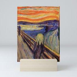 12,000pixel-500dpi - Edvard Munch - The Scream 1893 - Digital Remastered Edition2 Mini Art Print