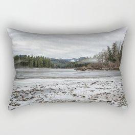 Fish Lake Emerging No. 2 Rectangular Pillow