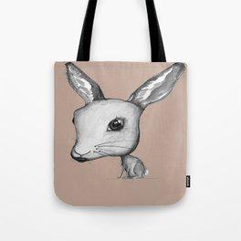 NORDIC ANIMAL - HAZEL THE HARE  / ORIGINAL DANISH DESIGN bykazandholly  Tote Bag