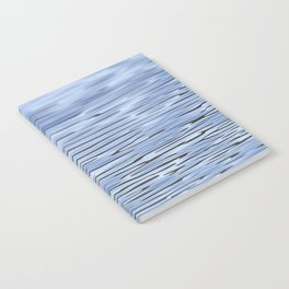 Small Blue Water Ripples Notebook