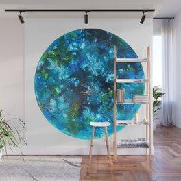 Blue Nudibranch Wall Mural