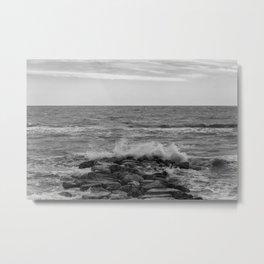 Seaside break Metal Print