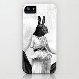 Bunny Lady iPhone Case