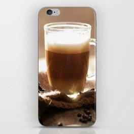 My Coffee in the morning iPhone Skin