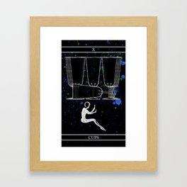 A Tarot of Ink 10 of Cups Framed Art Print
