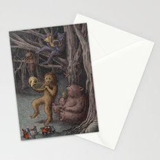 Forest Music  Stationery Cards