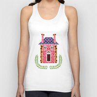 home sweet home Tank Tops featuring Home Sweet Home by haidishabrina