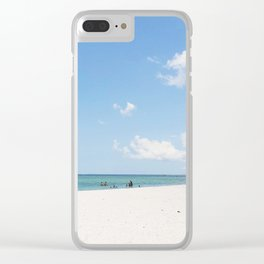 Big Hickory Beach Clear iPhone Case