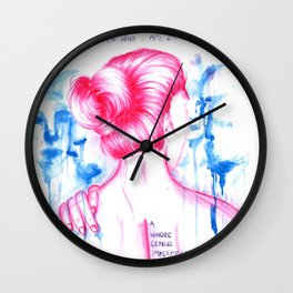 I DON'T KNOW WHO I AM - Equilibrium Wall Clock