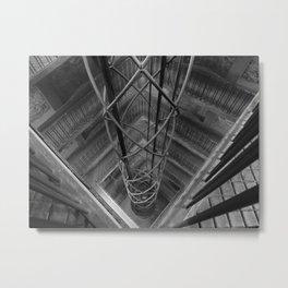 Look Down More Metal Print