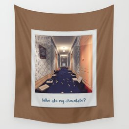 Who ate my chocolate? Wall Tapestry