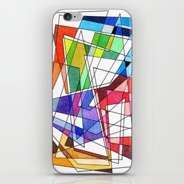 Abstract 10 iPhone Skin