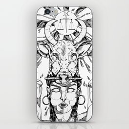 ethnicgirl iPhone Skin