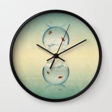 Goldfish Infinity Wall Clock