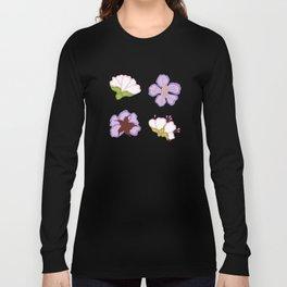 Flower Pack Purple Art Long Sleeve T-shirt