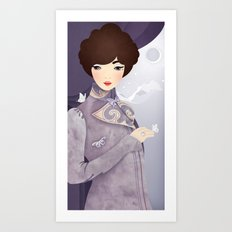 The Wings of the Dove Art Print
