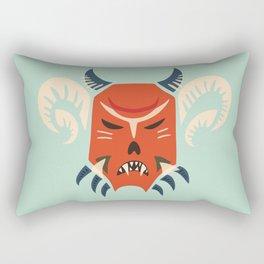 Kuker Evil Monster Mask Rectangular Pillow