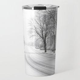 Joliette sous la neige Travel Mug