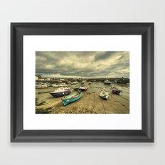 Stonehaven Harbour  Framed Art Print