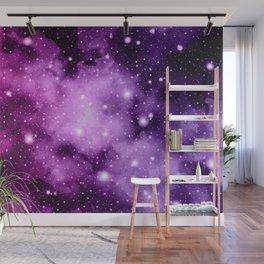 Purple Pink Galaxy Nebula Dream #1 #decor #art #society6 Wall Mural