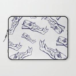 Pattern-whale Laptop Sleeve