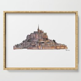Le Mont Saint-Michel Serving Tray