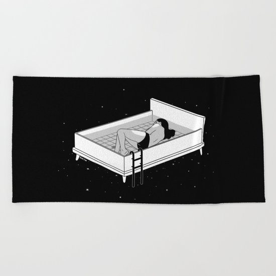 Bed for crying Beach Towel