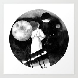 planet hunter Art Print