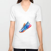 nike V-neck T-shirts featuring NIKE ZOOM by Ian Quijano