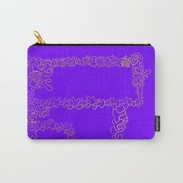 purple splash Carry-All Pouch