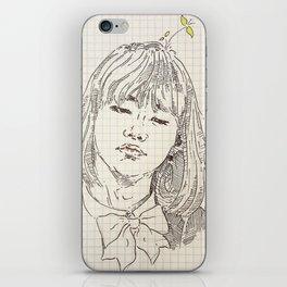 chicka yoongi iPhone Skin