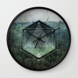 The Sacred Wood Wall Clock