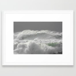 Big waves 3540 Framed Art Print