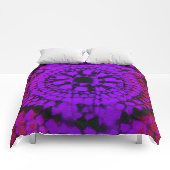 Scale Mandala 5 Comforters