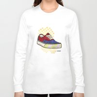 vans Long Sleeve T-shirts featuring Man I Need Vans - Classic Sneaker Icon by Dave Conrey