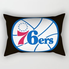NBA - 76ers Rectangular Pillow