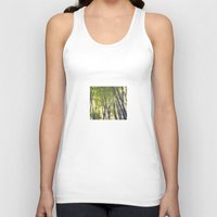 bamboo Tank Tops featuring Bamboo by Linde Townsend