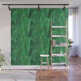 Emerald marble swirl Wall Mural