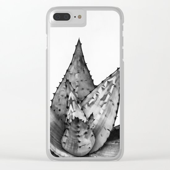 Nature aloe Clear iPhone Case