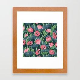 Barracuda - Midnight version Framed Art Print