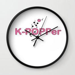 K-Popper Wall Clock