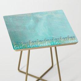 Ocean Sea Graffiti 1.1 Side Table