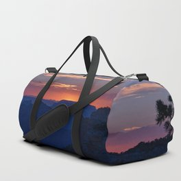 Colorful Sunset - North_Rim, Grand_Canyon, AZ Duffle Bag