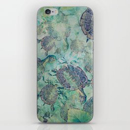 Watery Whimsy iPhone Skin