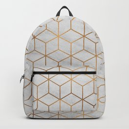 Marbled Copper Cubes Backpack