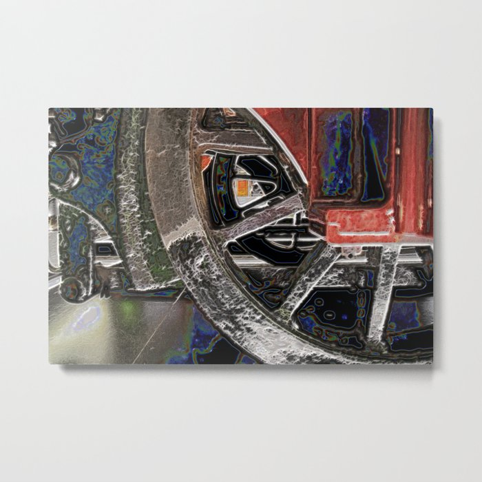 Traction Metal Print