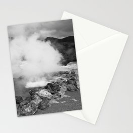 Hot spring Stationery Cards
